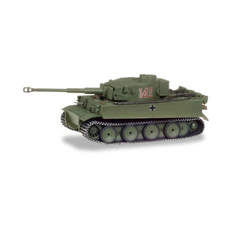 Herpa 745932 Heavy Tank Tiger Vers. H1 decorated - Tunisia (number: 142)