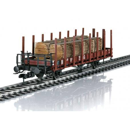 Märklin 58490 Stolpvagn typ R10 typ med last av trä