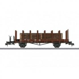 Märklin 58422 Stolpvagn R10 403 327 typ DB med last av trä