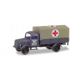 """Herpa 746052 Mercedes-Benz medical service truck """"Deutsche Reichsbahn / Eisenbahnverwaltung"""""""