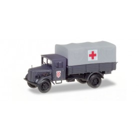 Herpa 746076 Opel Blitz medical service truck Croatia