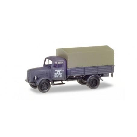 """Herpa 746069 Mercedes-Benz canvas trailer """"Deutsche Reichsbahn"""""""