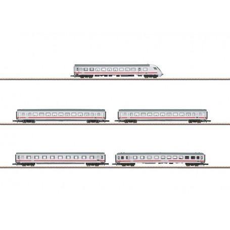 """Märklin 87756 Vagnsset med 5 personvagnar """"InterCity"""" typ DB AG"""