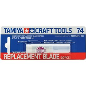 Tamiya 74074 Extrablad, 30 st
