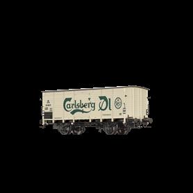 """Godsvagn G10 typ DSB """"Carlsberg"""""""