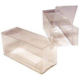 Plastbox, genomskinlig, L75 x B30 x H35 mm