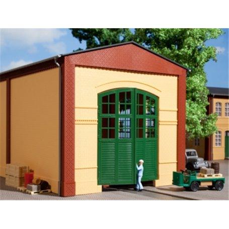 Auhagen 80605 Walls 2326A yellow, gates I green