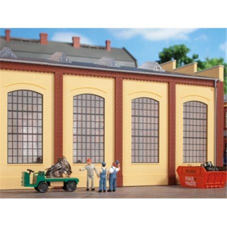 Auhagen 80609 Walls 2342N yellow, industrial windows E