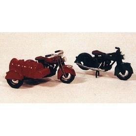 JLI 906 Klassiska motorcyklar från 1947 (2 st)