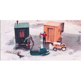 """JLI 453 """"Vinter-set"""", innehåller äldre snöskoter...."""