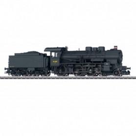 Märklin 37026 Ånglok med tender klass T 297 typ DSB