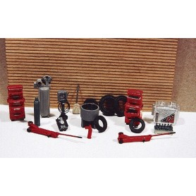 JLI 510 Deluxe Gas Station-set