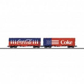 Märklin 45686 Vagnsset med 2 godsvagnar 'Coca-Cola'