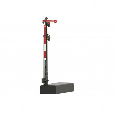 Märklin 70414 Hp 0 | Hp 1 | Hp 2 Home Signal with a Lattice Mast Signal