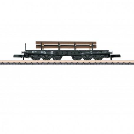 Märklin 82341 Tungtransportvagn Ssym 46 typ DB med last av stål