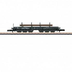 Märklin 82343 Tungtransportvagn Ssym 46 typ DB med last av stål