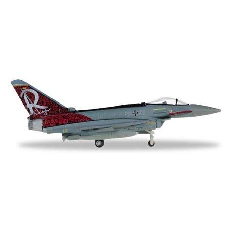 """Herpa 558198 Flygplan Luftwaffe Eurofighter Typhoon - TaktLwG 71 """"Richthofen"""""""