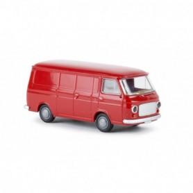 Brekina 34451 Fiat 238 skåp, röd, TD