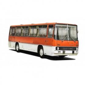 Brekina 59601 Buss Ikarus 255, röd|vit, TD
