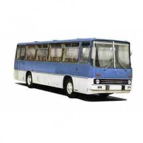 Brekina 59602 Buss Ikarus 255, blå|vit, TD