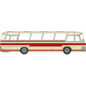 Brekina 58231 Buss Neoplan NS 12 elfenben|röd 'Von Starline'