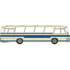 Brekina 58233 Buss Neoplan NS 12 elfenben|blå 'Von Starline'