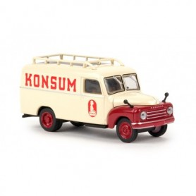 "Brekina 58163 Hanomag L 28 Skåp ""Konsum"" ""Von Starline"""