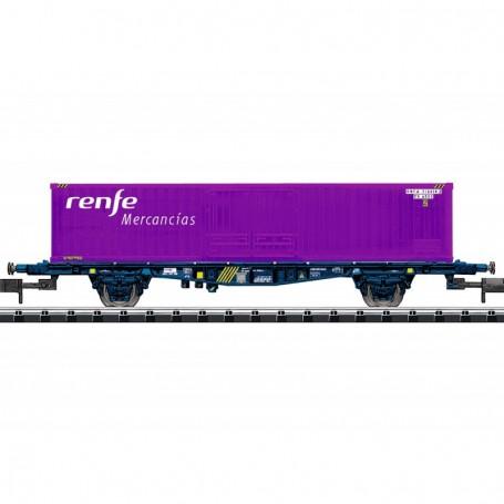 Trix 15649 Containervagn Lgjs typ RENFE