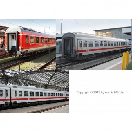 Trix 15887 Personvagnsset med 3 vagnar typ DB AG