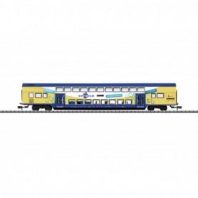 Trix 15945 Tvåvåningsvagn Dbpdza typ DB