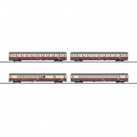 Trix 23485 Personvagnsset med 4 personvagnar typ DB