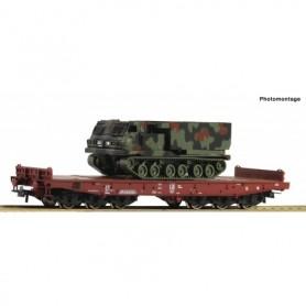 Roco 76954 Tungtransport Salmmp typ FS med last av MARS|MLRS 270