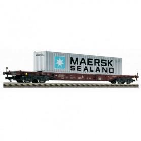 Fleischmann 524501 Containervagn Sgns typ DB 'Maersk Sealand'
