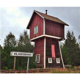 """Joswood 25014 Svenskt Vattentorn """"Inlandsbanan"""""""