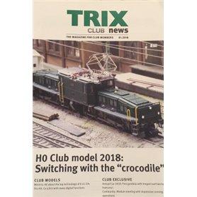 Trix Club 01/2018, magasin från Trix