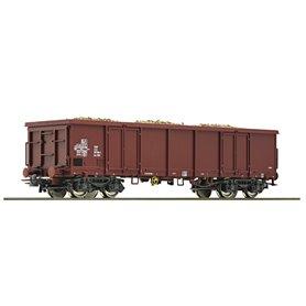 Öppen godsvagn 597 1106-1 Eas typ DR med last av sockerbetor