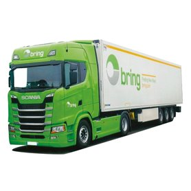 "AMW 9221.01 Bil & Kyltrailer Scania S/Aero ""Bring"""