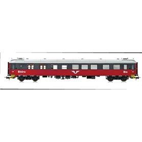 NMJ 202502 Bistrovagn SJ S11 4880 röd/svart