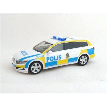 "Herpa 929318 VW Passat Variant B8 ""Polis 35-8210"""