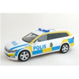"Herpa 929325 VW Passat Variant B8 ""Polis 52-1150"""