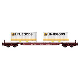 "NMJ 5056031 Containervagn Sggs 31 76 0 037-8 typ NSB ""Linjegods"""