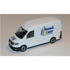 "VW Crafter box high roof, white ""Svensk Cater"""
