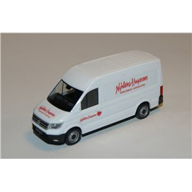 "AHM AH-683 VW Crafter box high roof, white ""Svensk Cater"""