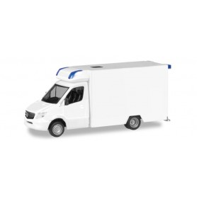 Herpa 013390 Herpa MiniKit. Mercedes-Benz Sprinter Fahrtec RTW, white