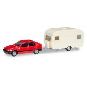 Herpa 013420 Herpa MiniKit. Opel Kadett E GLS with caravan
