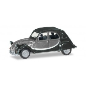Herpa 020817-005 Citroen 2 CV Charleston, light gray | dark gray