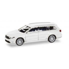 Herpa 028981 VW Passat Variant GTE E-Hybrid, pure white