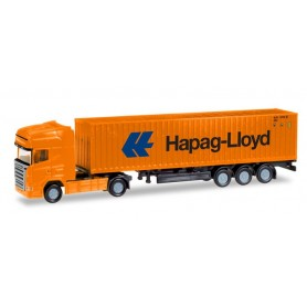 Herpa 066723 Scania R TL container semitrailer 'Hapag Lloyd'