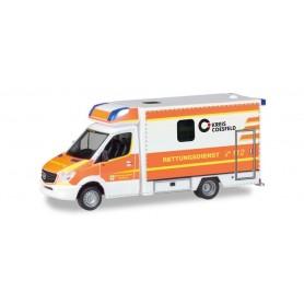 Herpa 093675 Mercedes-Benz Sprinter Fahrtec RTW 'Rettungsdienst Dülmen'