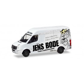 Herpa 093682 VW Crafter box high roof 'TSU Bode'